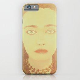 The Witcher Russia: Anna Henrietta iPhone Case