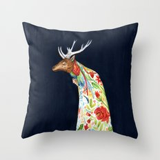 Wilder Mann - The Stag Throw Pillow