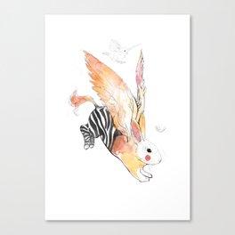 Ethiopian Pegasus Canvas Print