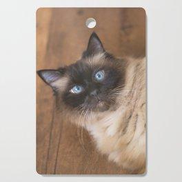 Ragdoll Cat Cutting Board
