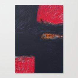 Morceaux/Pieces 4 Canvas Print