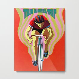 Two Wheel Trip Metal Print