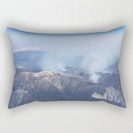 Aerial Mist Rectangular Pillow