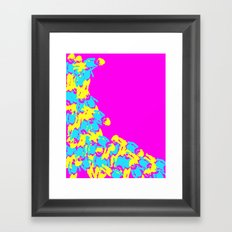 Catarata Pink, 2015 Framed Art Print