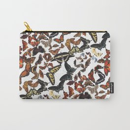Butterflies of Maine Pattern Carry-All Pouch