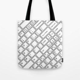 Keyboarded Tote Bag