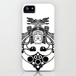 Aztec Priest iPhone Case