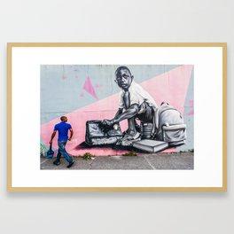 AFH 2018 Street Art 3 Framed Art Print