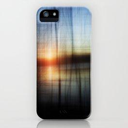 Sunset Blur iPhone Case