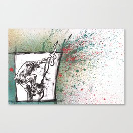 Been Steppin' on the Devil's Tail.... Canvas Print