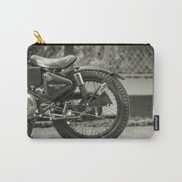 The Vintage Royal Enfield Bullet 350 Motorcycle Carry-All Pouch