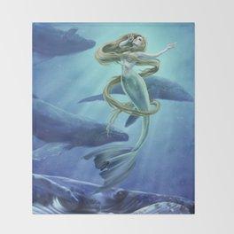 Ocean Song Throw Blanket