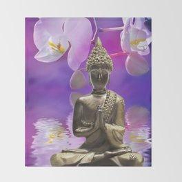 Buddha 12 Throw Blanket
