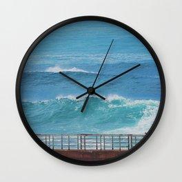 Beyond the Wall Wall Clock