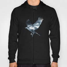 Abstract Cubizm Charcoal Drawing Hoody
