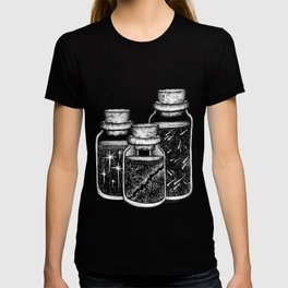 Ingredients of space T-shirt