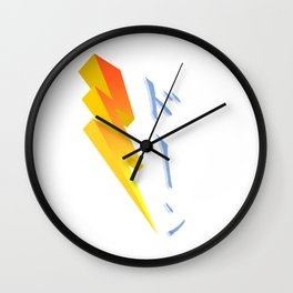Thunderstruck! Wall Clock