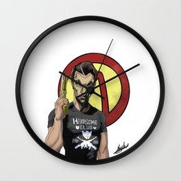 Handsome Jack Bullet Club Wall Clock