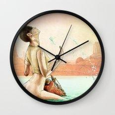 Furiosa's First Bath Wall Clock