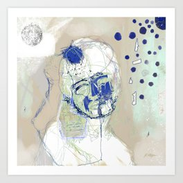 stillness mind  Art Print
