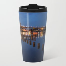 Night CityScape Travel Mug