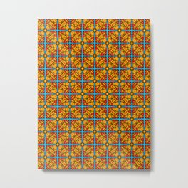 Shanghai Screen Pattern Metal Print