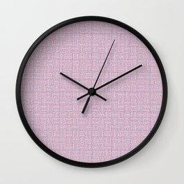 Blue Interchange Wall Clock