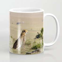 Two cheetahs on the look out Coffee Mug