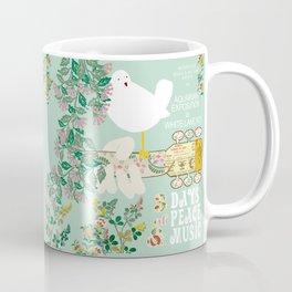 Woodstock Birdie Collage Print Coffee Mug