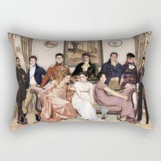 Pride and Prejudice and Werewolves Rectangular Pillow
