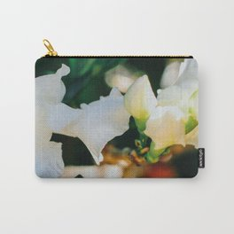 Coffee Rose Carry-All Pouch