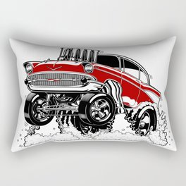57 Gasser REV-3 RED Rectangular Pillow