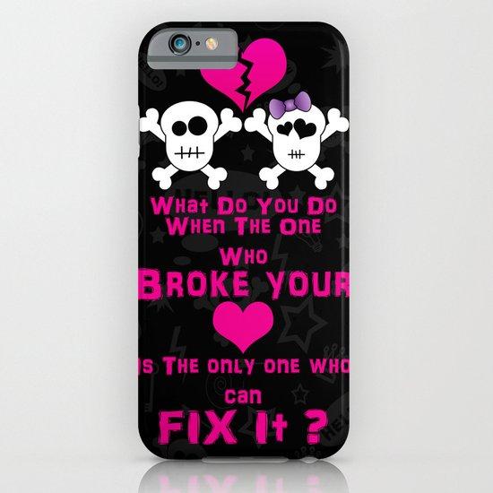 Broken Heart! iPhone & iPod Case