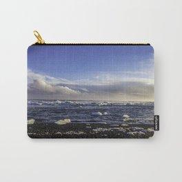 Jokulsarlon Lagoon Beach 08  Carry-All Pouch