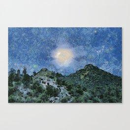 Starry Night Sunrise Canvas Print