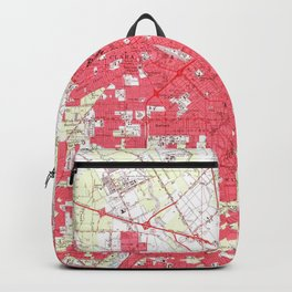 Vintage Map of San Jose California (1961) Backpack