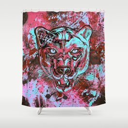 Panther Style. Shower Curtain