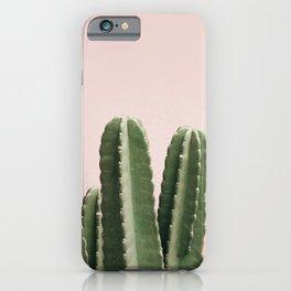 Vintage cactus iPhone Case