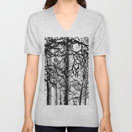 Birches Unisex V-Neck