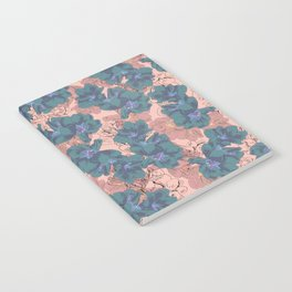 Faded Hibiscus Pink Notebook