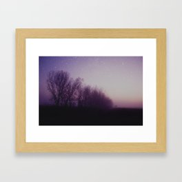 Time, Immemorial Framed Art Print