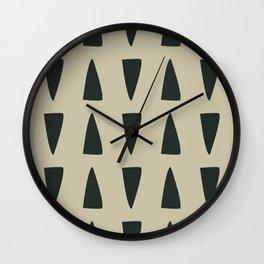 like an iron holes Wall Clock