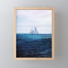 Sailing Ship on the Sea Framed Mini Art Print