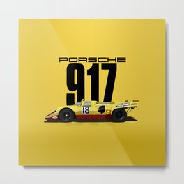 Lennep Piper 1970 Le Mans - 917K Chassis 917-021 Metal Print