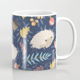 White hedgehogs Coffee Mug