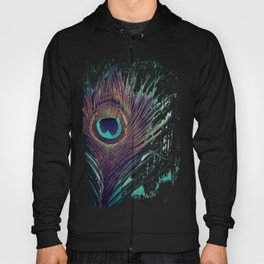 Peacock Feather Hoody