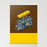 acdc Stationery Cards featuring ACDC: ROCK ON! by paragraph
