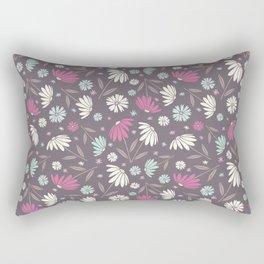 Garden Flowers Style R Rectangular Pillow