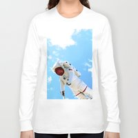 spaceman Long Sleeve T-shirts featuring Spaceman by Richwill Company