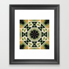Two In One. Framed Art Print